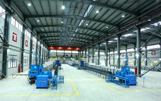48米推板窑生产线